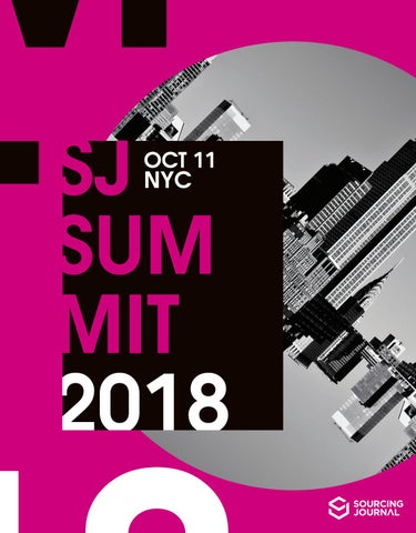 754ad44e4 2018 Sourcing Journal Summit: New York by Sourcing Journal - issuu