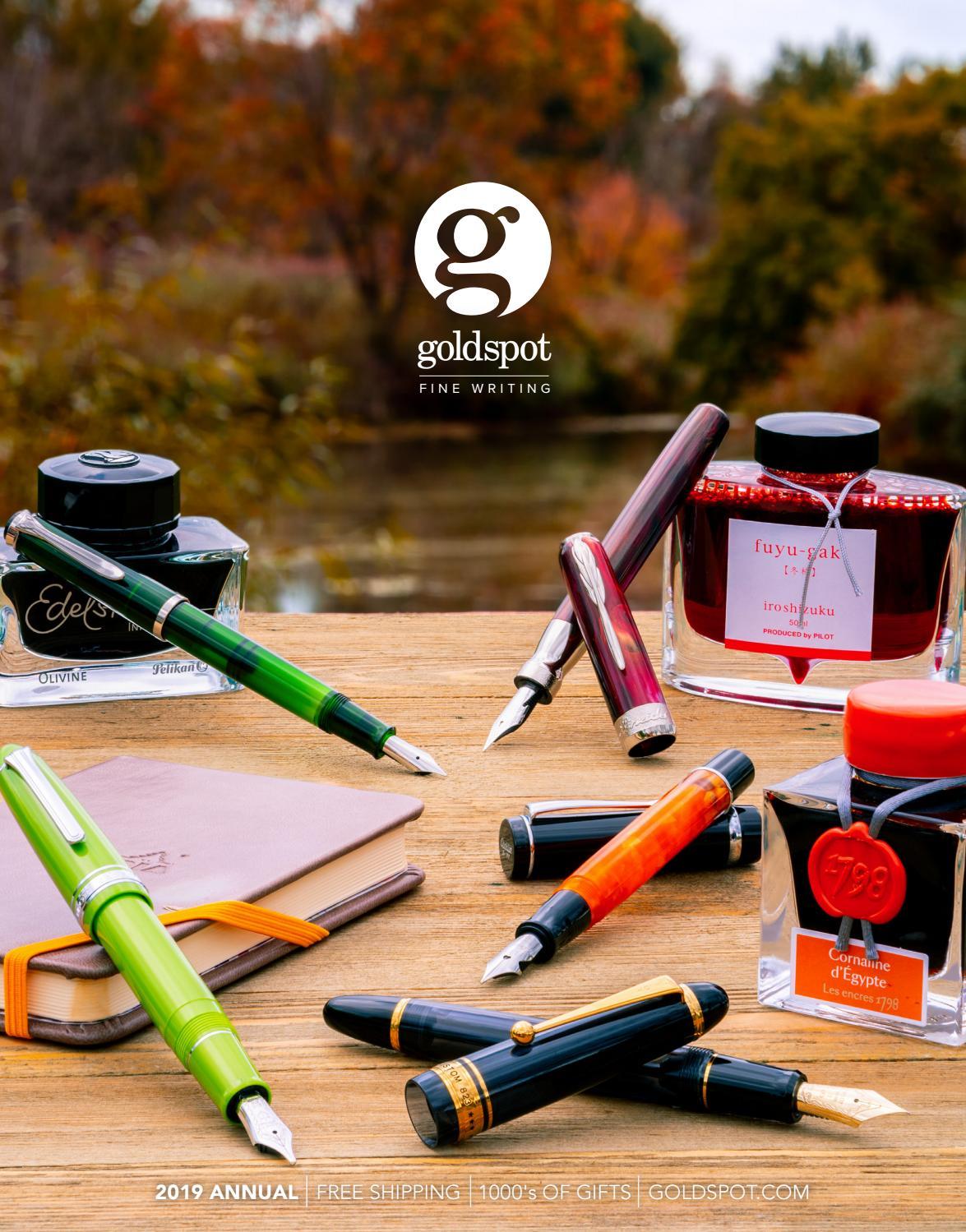 Goldspot Pens 2018 Annual Fine Writing Magazine Of Fountain Pens