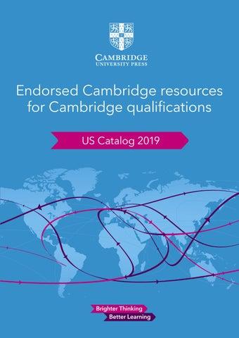 Cambridge International US Catalog By Cambridge University