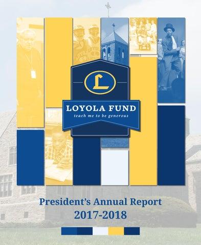 2018 Presidents Report By Loyola Blakefield Issuu