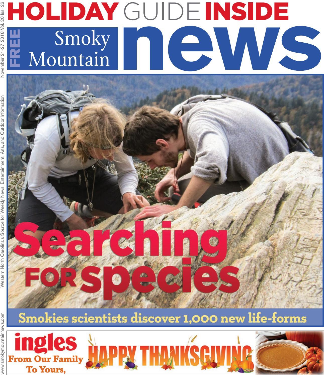 4f6edf3f39 SMN 11 21 18 by Smoky Mountain News - issuu