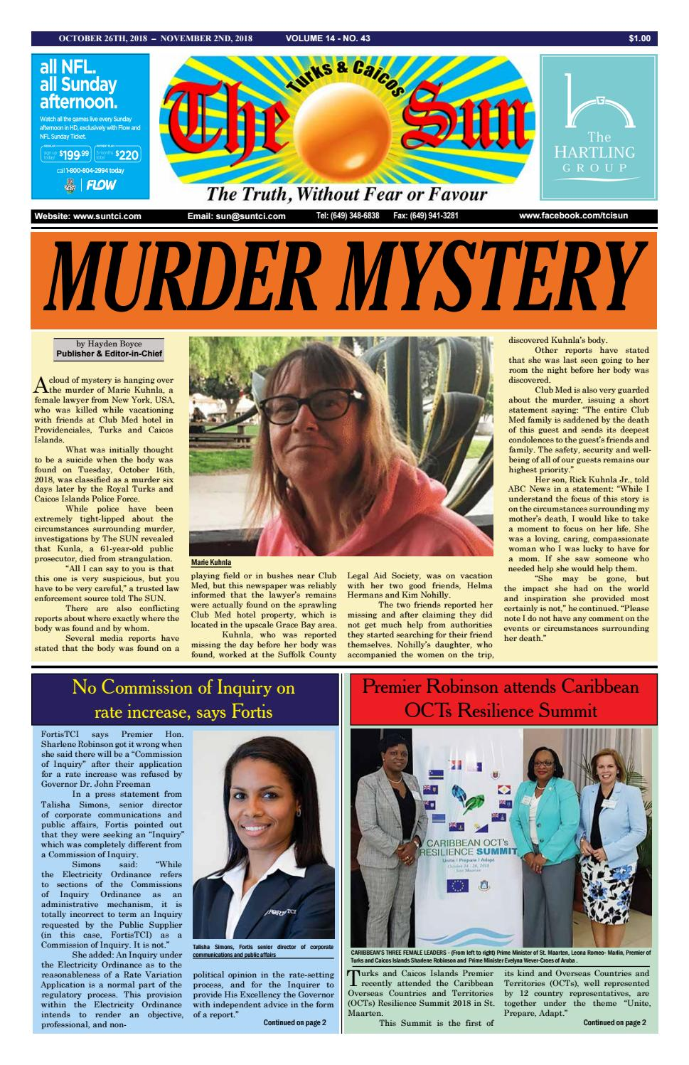VOLUME 14 ISSUE 43 by The SUN Newspaper - issuu