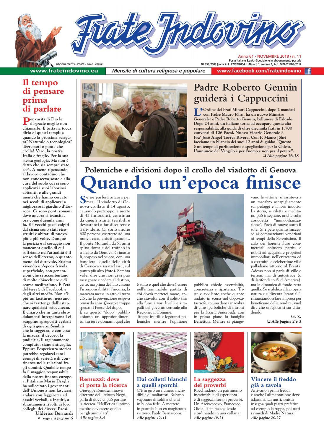 e365ef4411 Novembre by Edizioni Frate Indovino - issuu