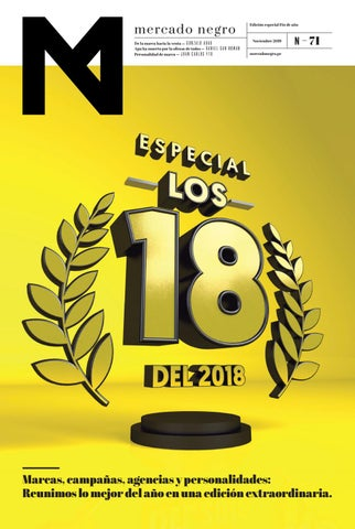 watch 50d9c c5a63 ADnews 71 - Noviembre 2018 by Mercado Negro Advertising - issuu
