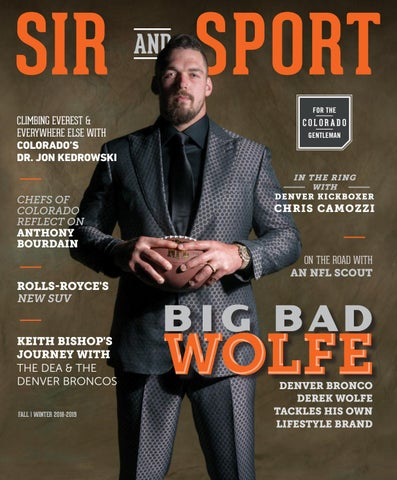 ac4b0d642414 Page 1 of Sir and Sport Magazine Fall Winer 2018