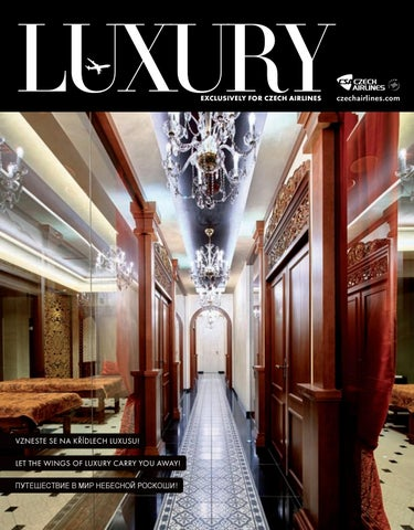 11839466454 Luxury ČSA 11 2018 by LuxuryGuideCZ - issuu