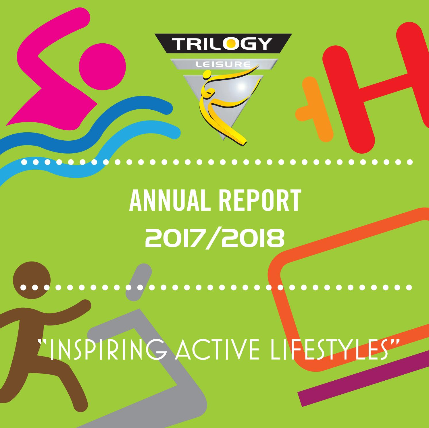 Northampton Leisure Trust Annual Report 2017/2018 by