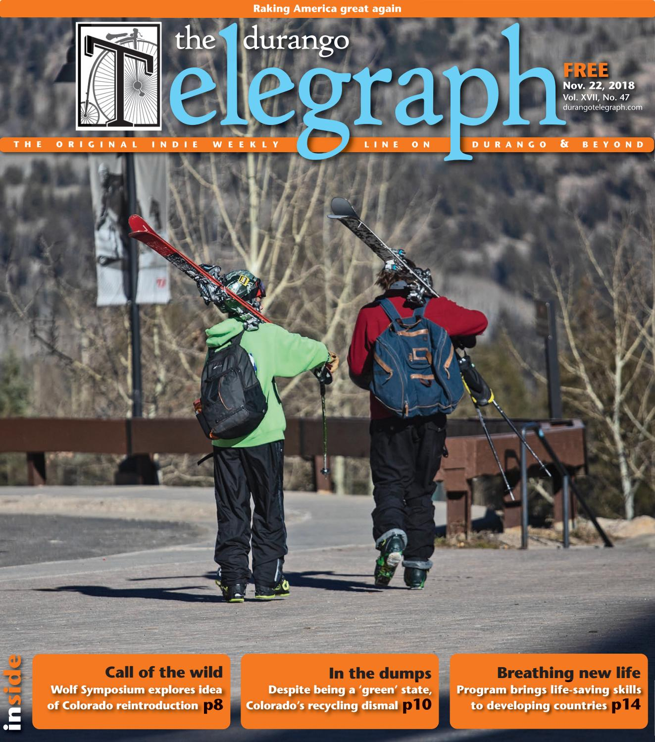Durango Telegraph - November 21, 2018 by Durango Telegraph - issuu