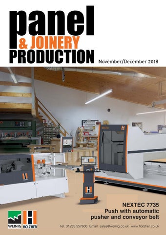Panel & Joinery Production - November/December'18 by First Sight