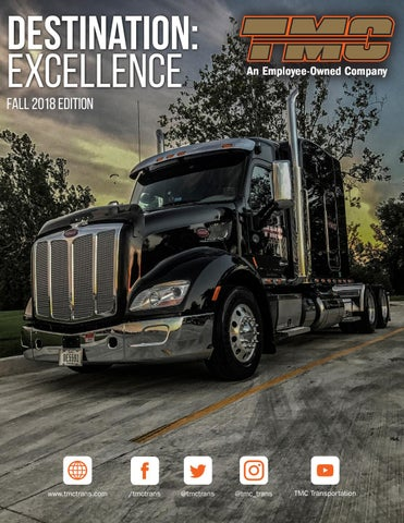 Destination: Excellence | Fall 2018 Edition by TMC