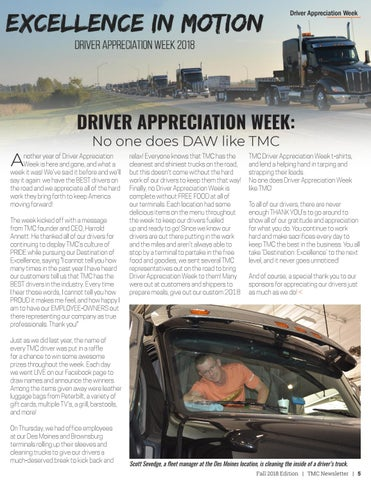 Page 5 of Driver Appreciation Week 2018
