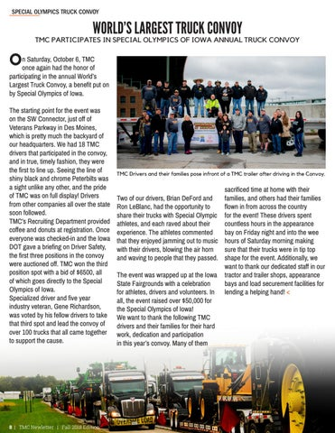 Page 8 of World's Largest Truck Convoy