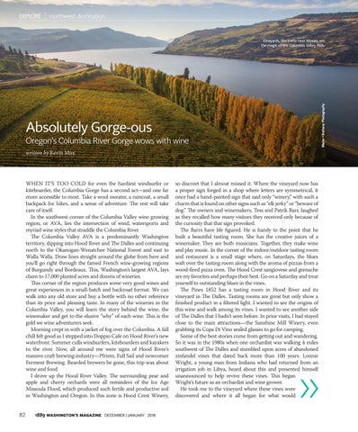 Page 84 of Hidden Gem Wineries in the Columbia Gorge