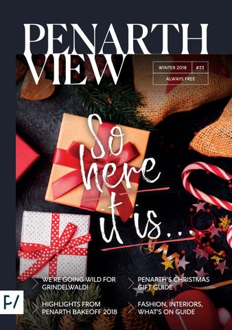 01c225423c4 Penarth View Issue 33 (Winter 2018) by Penarth View - issuu