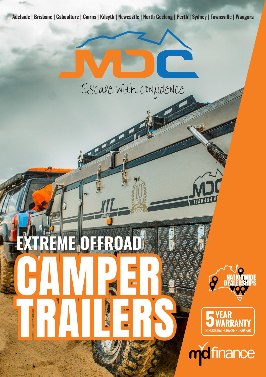 Market Direct Offroad Camper Trailers by Market Direct