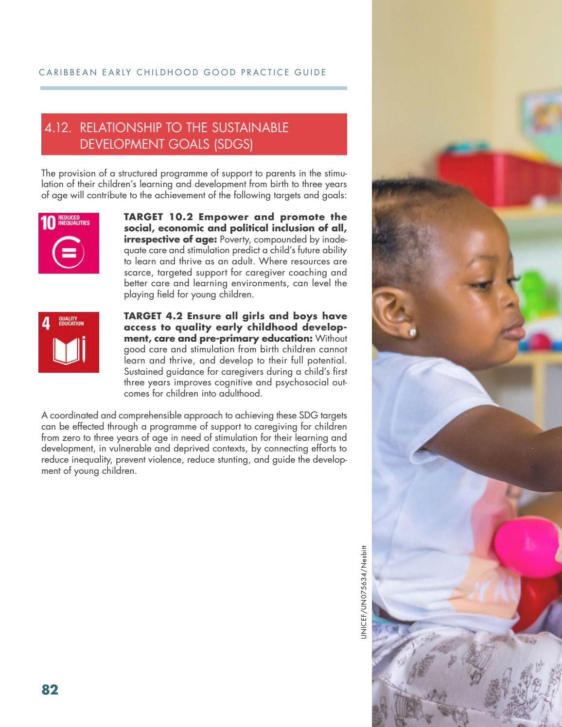 Caribbean Early Childhood Development Good Practice Guide by