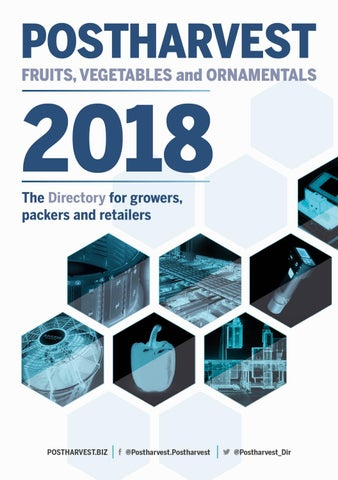 Postharvest Directory 2018 by Horticultura & Poscosecha - issuu