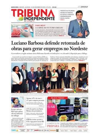 Edição número 3274 - 22 de novembro de 2018 by Tribuna Hoje - issuu 8ed05fc45e641