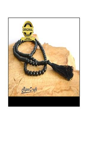 Tasbih Batu Black Onyx 99 Butir