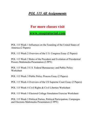 political participation essay