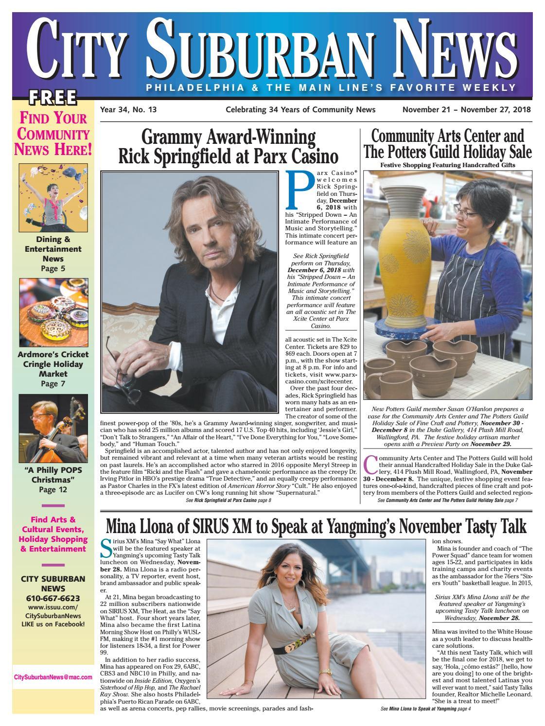 City Suburban News 11_21_18 issue by City Suburban News - issuu