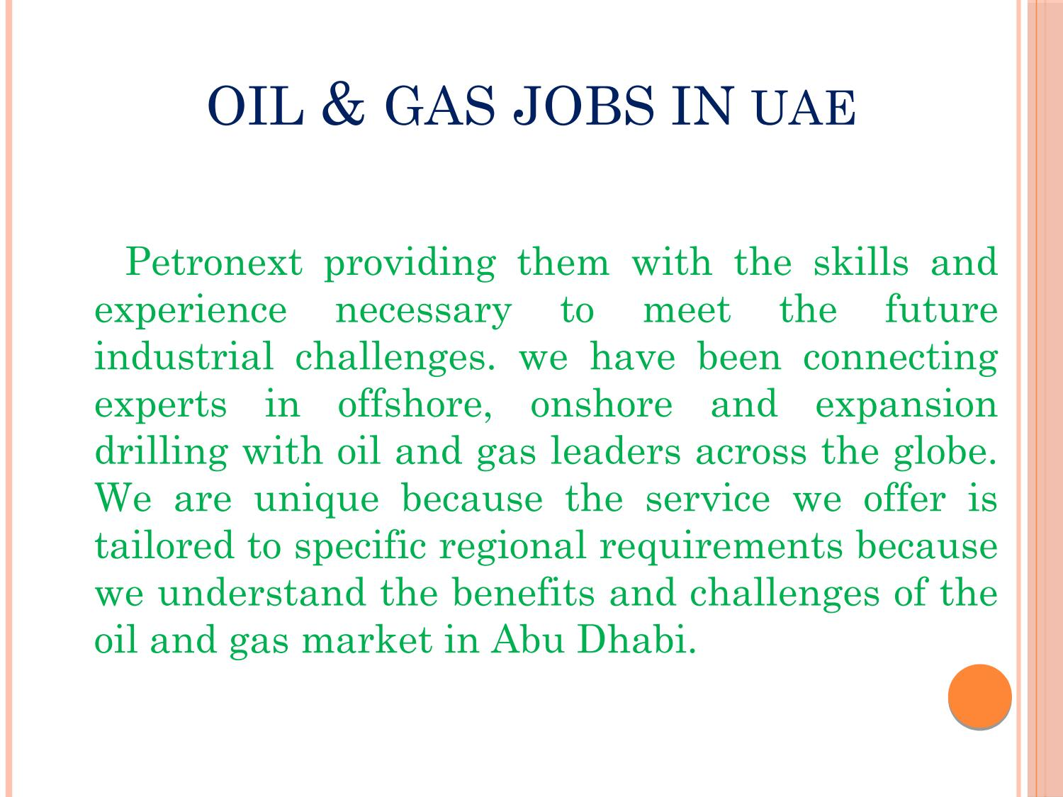 Oil & Gas jobs in UAE by petronextinternational - issuu