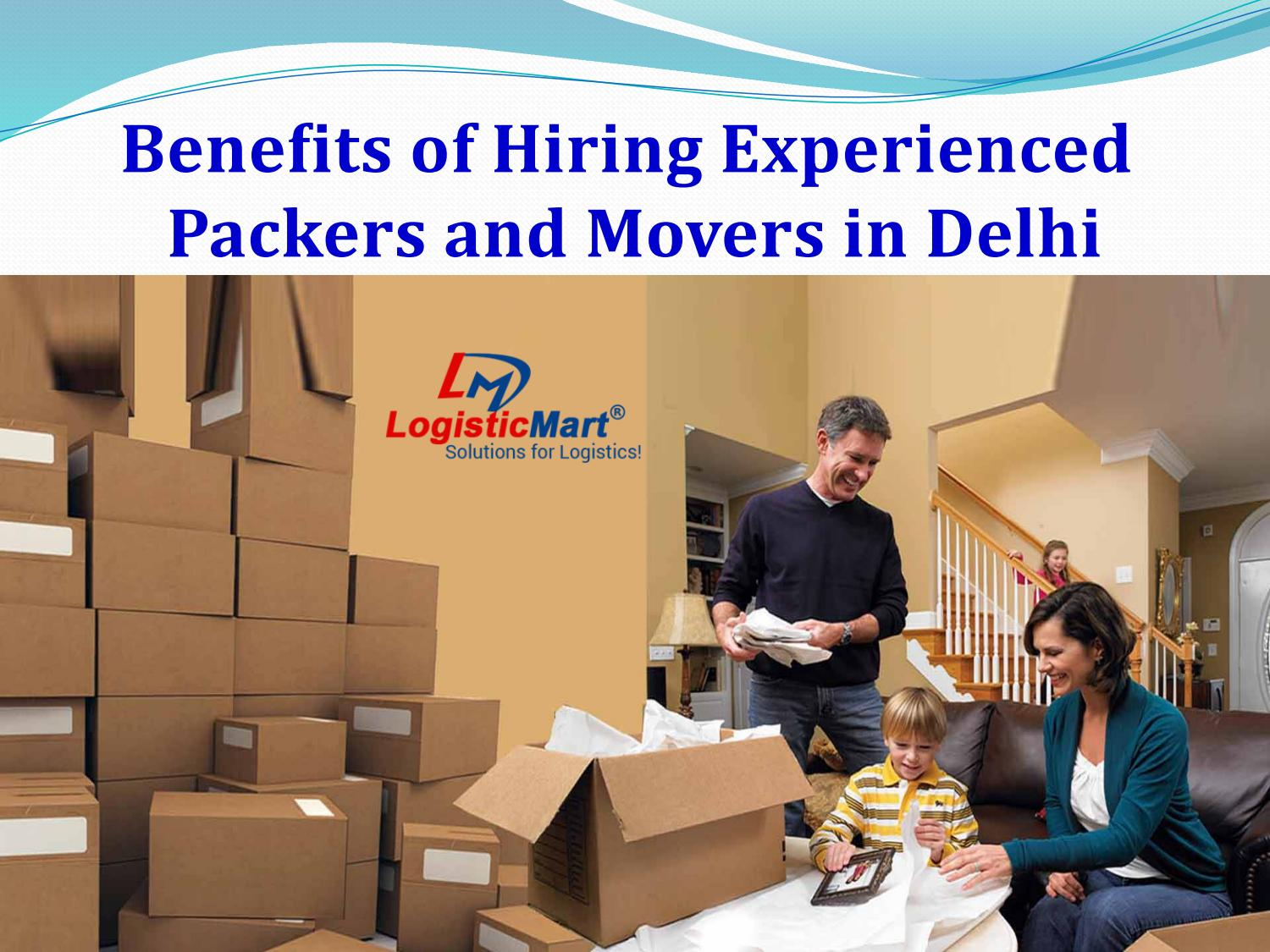 Packers and Movers in Delhi - LogisticMart