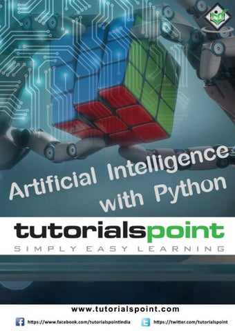 Artificial Intelligence with Python Tutorial by swathi sree - issuu