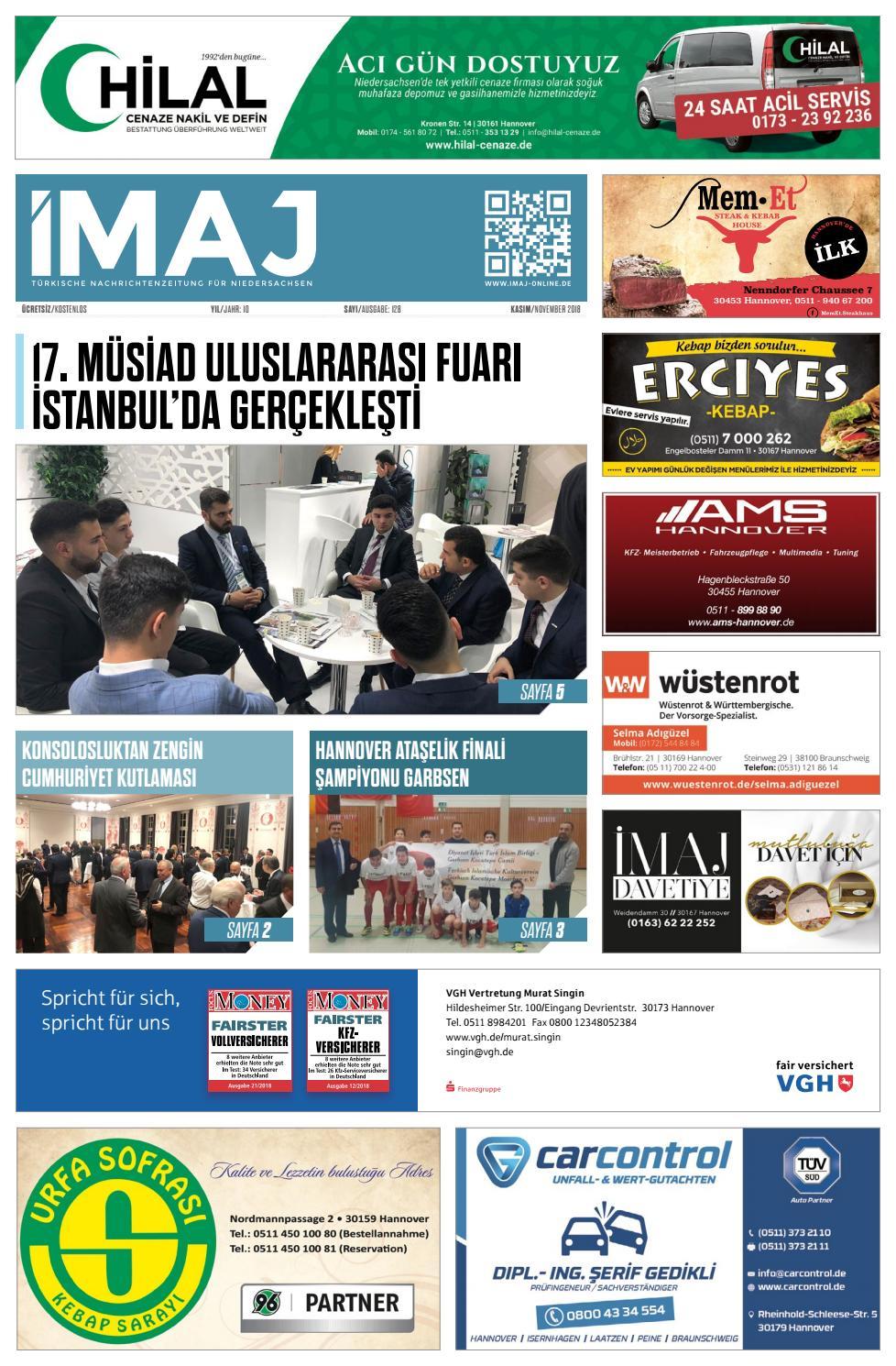 Imaj Ausgabe Sayi 128 November Kasim 2018 By Imajgazetesi Issuu