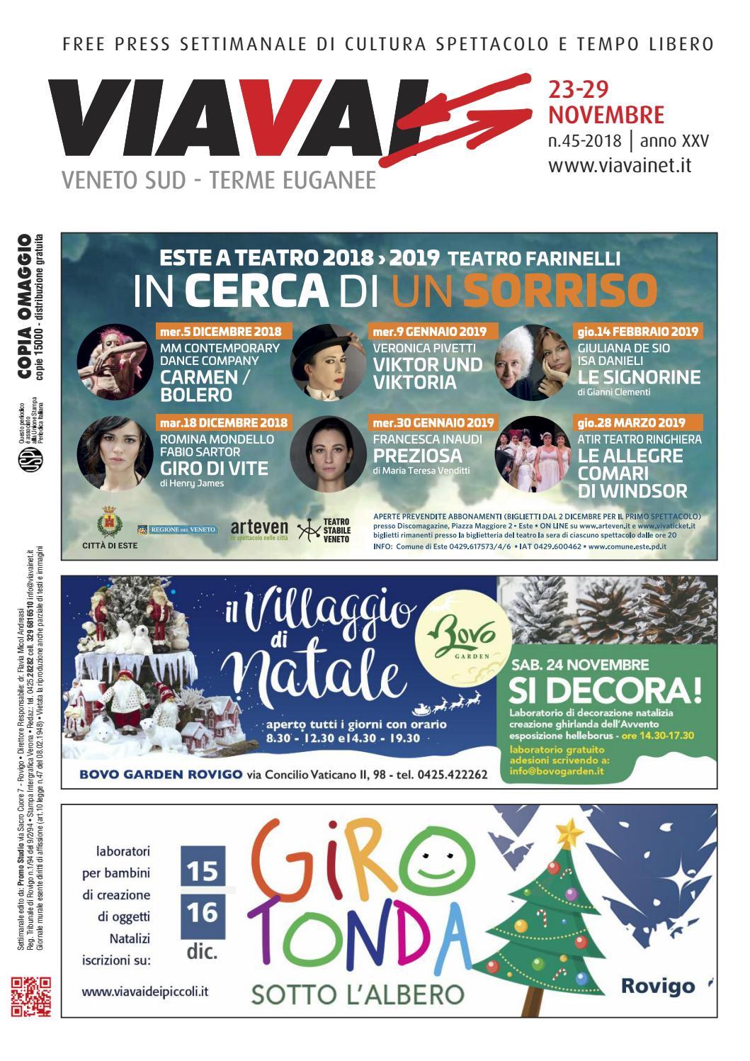 Sud Via Veneto Viavai 23 Novembre Terme Issuu Vai 2018 Euganee By QrdeEBWCxo