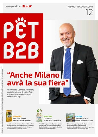 Pet B2B Dicembre 2018 by by Editoriale Farlastrada - issuu 32e1d7c6e16