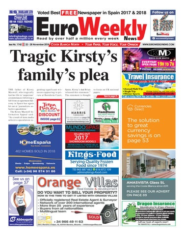 b689f0b88ed56d Euro Weekly News - Costa Blanca North 22-28 November 2018 Issue 1742 ...