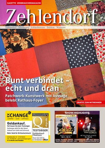 Gazette Zehlendorf November 2018 By Gazette Verbrauchermagazin Issuu