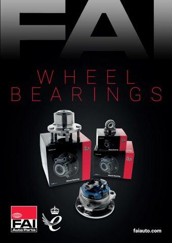 FAI Wheel Bearing Brochure