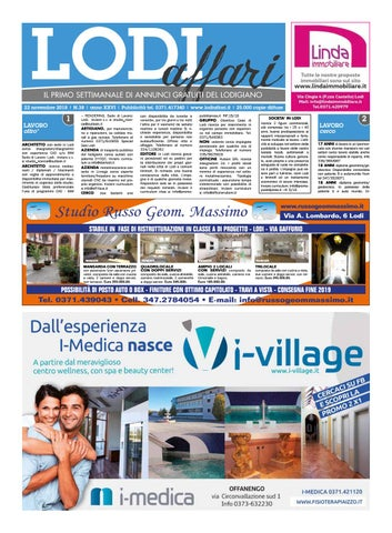 Lodi Affari 22 Novembre by Lodi Affari issuu
