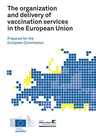 The organization and delivery of vaccination services in the ... 4b2c0e6e11