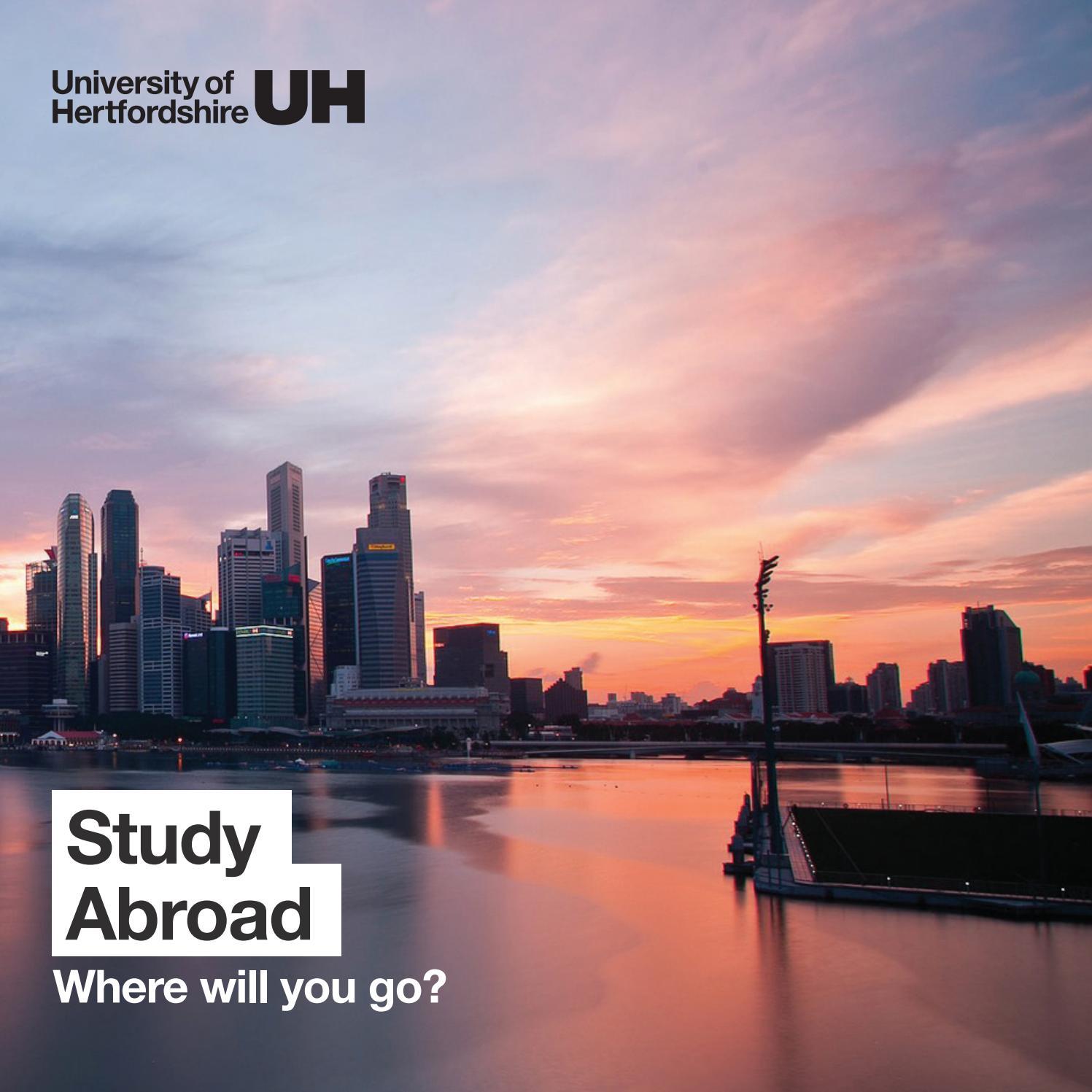 Study Abroad - University of Hertfordshire by University of