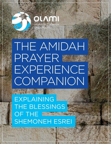 The Amidah Prayer Experience Companion by NLE Resources - issuu