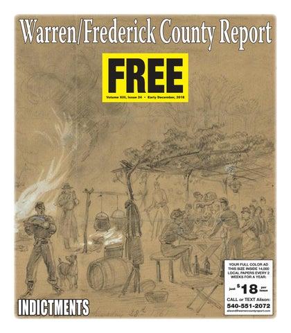 Early December 2018 Warren/Frederick County Report by Warren