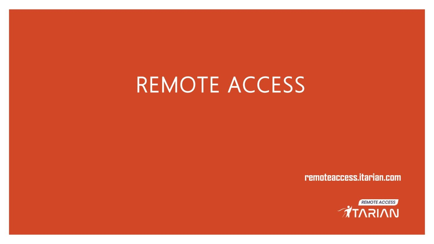Remote Access Solutions| ITarian Full Suite by aaronmacro