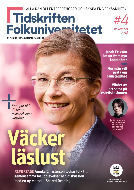 98a26bf1c6f7 Tidskriften Folkuniversitetet #4 - 2018 by Folkuniversitetet - issuu