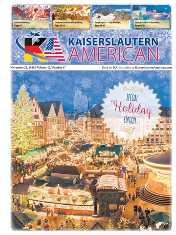 740e133d Kaiserslautern American, November 23, 2018 by AdvantiPro GmbH - issuu