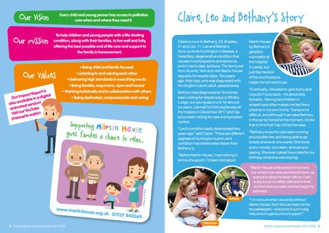 Page 2 of Claire, Leo and Bethany's Story