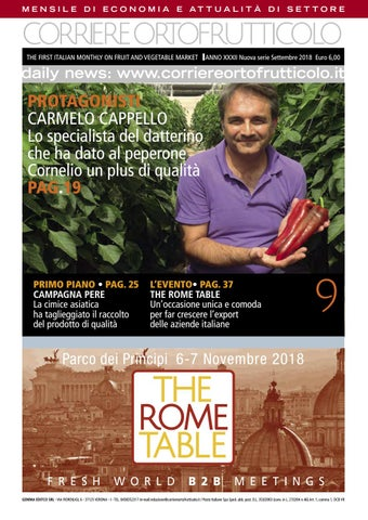 Corriere Ortofrutticolo Settembre 2018 by Andrea Andre - issuu 57a68933ba4f