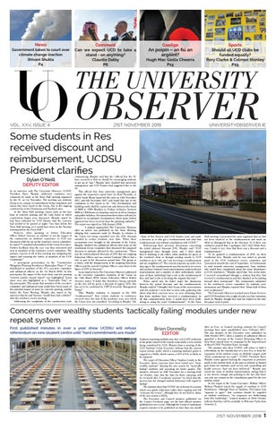 d33310ac1ed7b VOL. XXV, Issue 4, UO by The University Observer - issuu