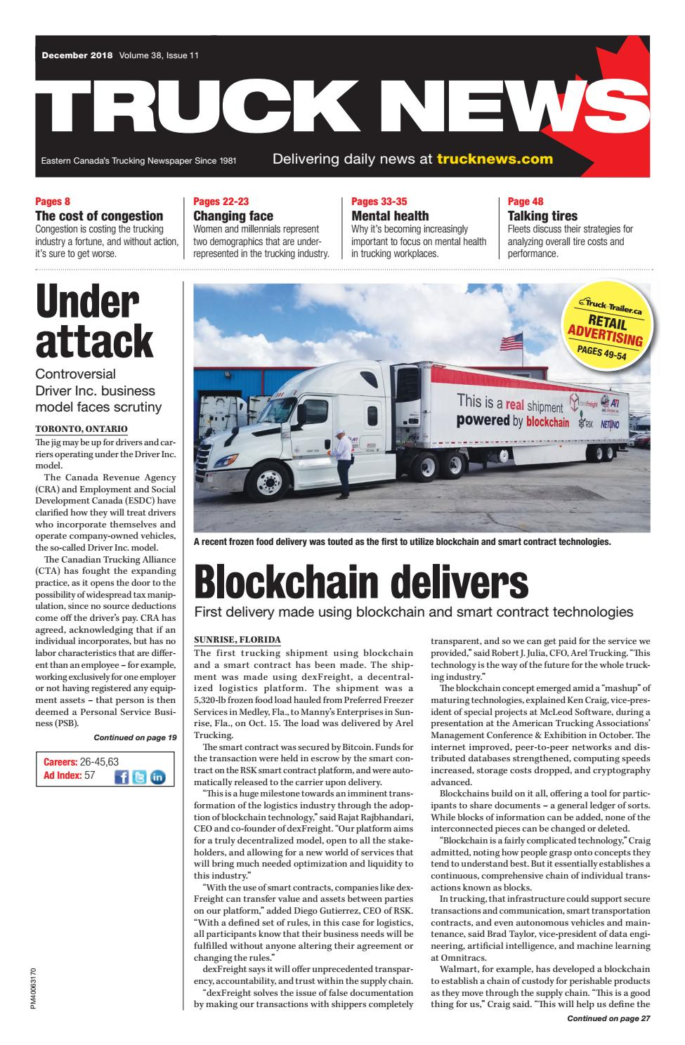 3e8784fc8afc Truck News December 2018 by Annex Business Media - issuu