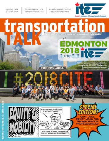 Transportation Talk - Summer 2018 by CITE - issuu