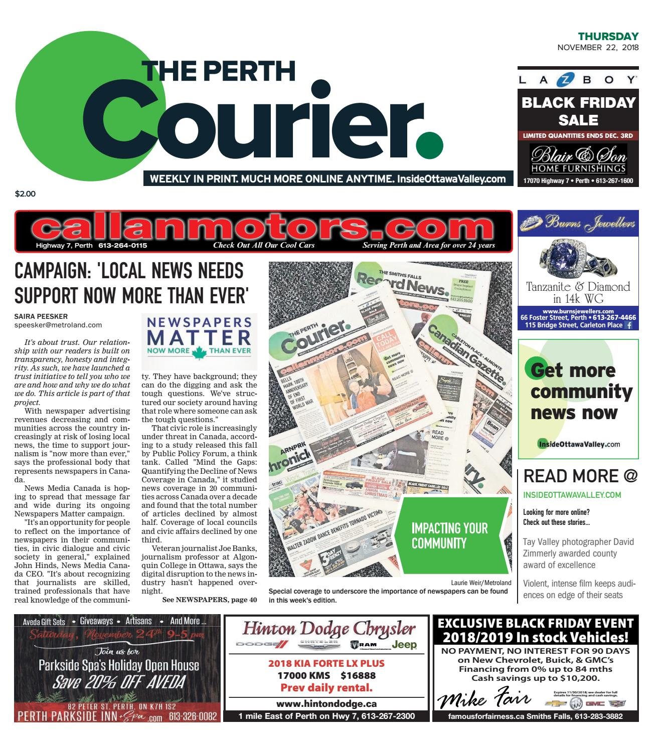 Array - otv p a 20181122 by metroland east   the perth courier   issuu  rh   issuu com
