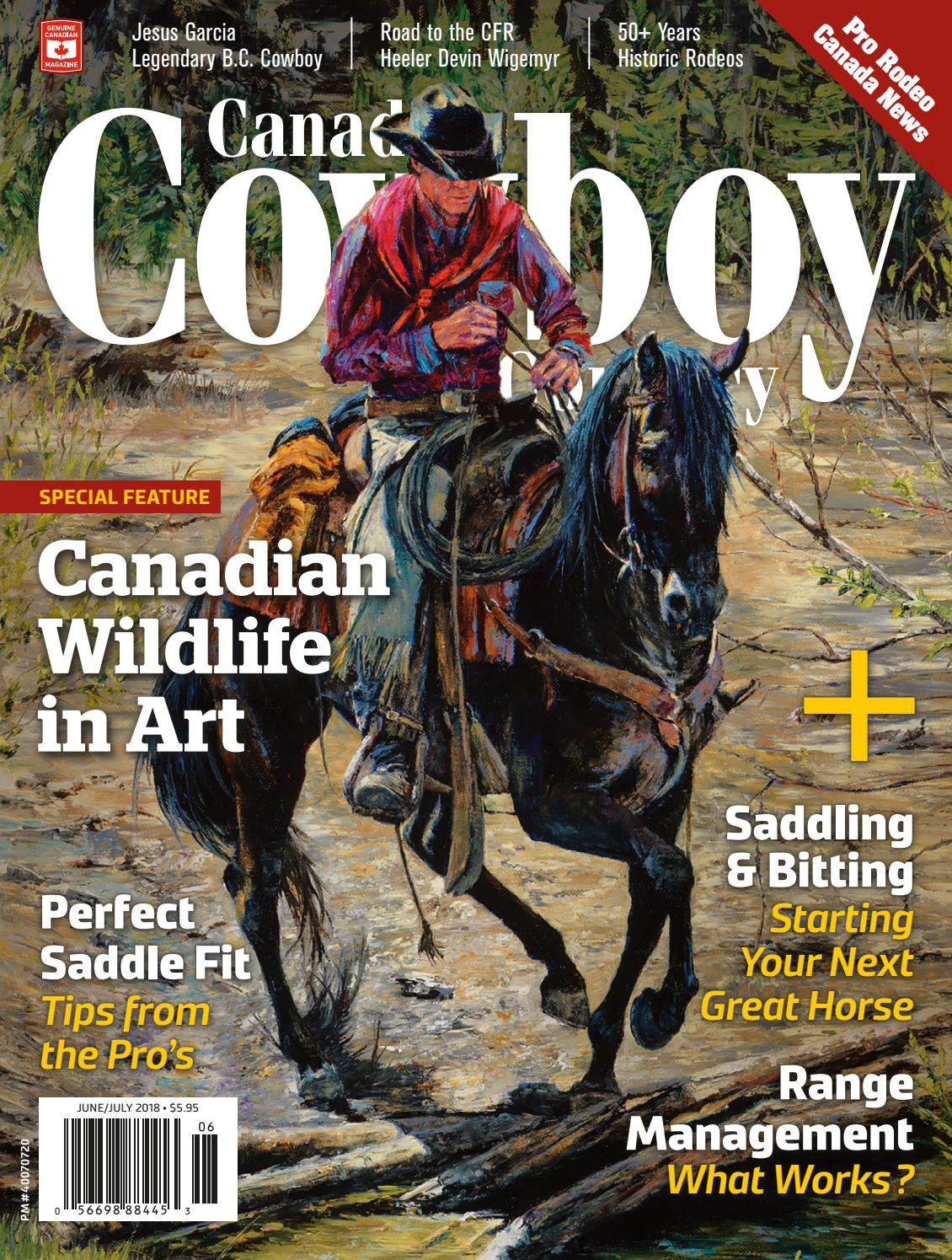 Canadian Cowboy Country - Jun/Jul 2018 by Tanner Young