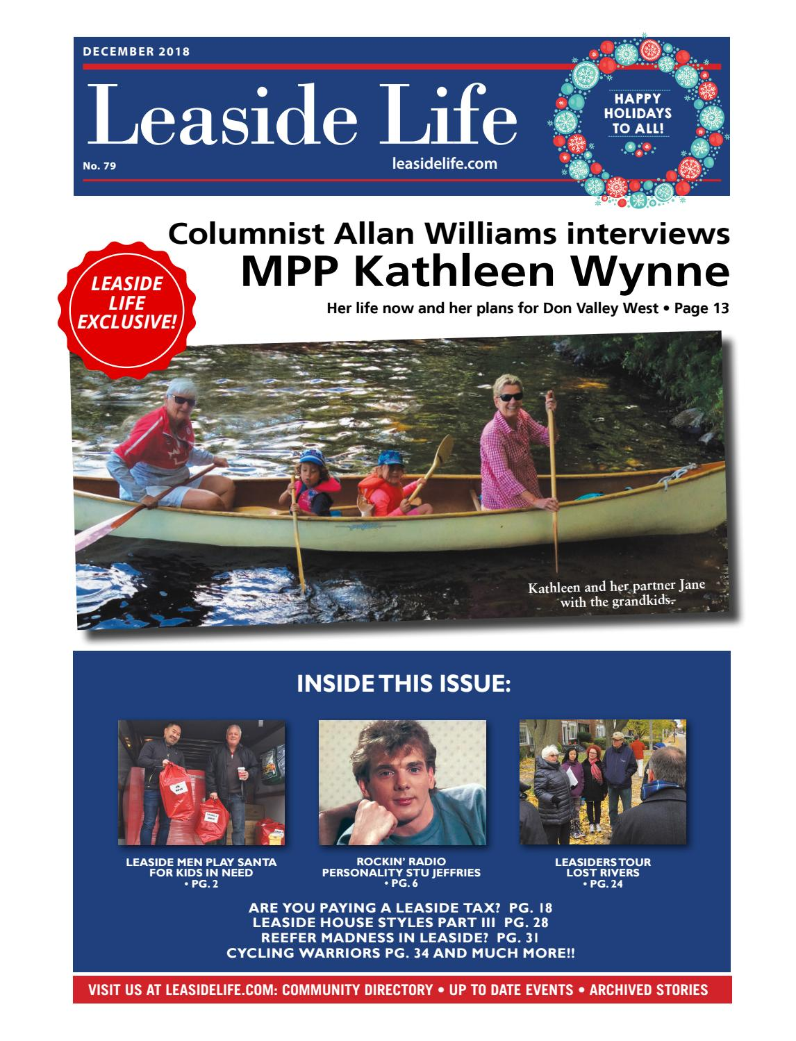 Leaside Life Issue 79 December 2018 by Leaside Life - issuu